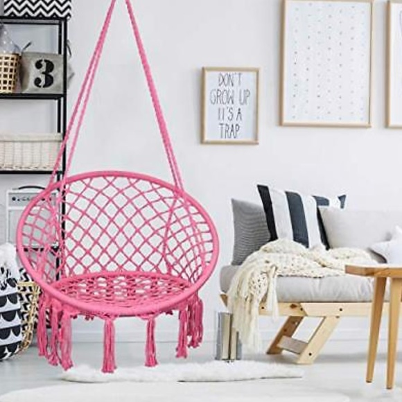 Urban Outfitters Accessories Rose Pink Cotton Rope Macrame Boho